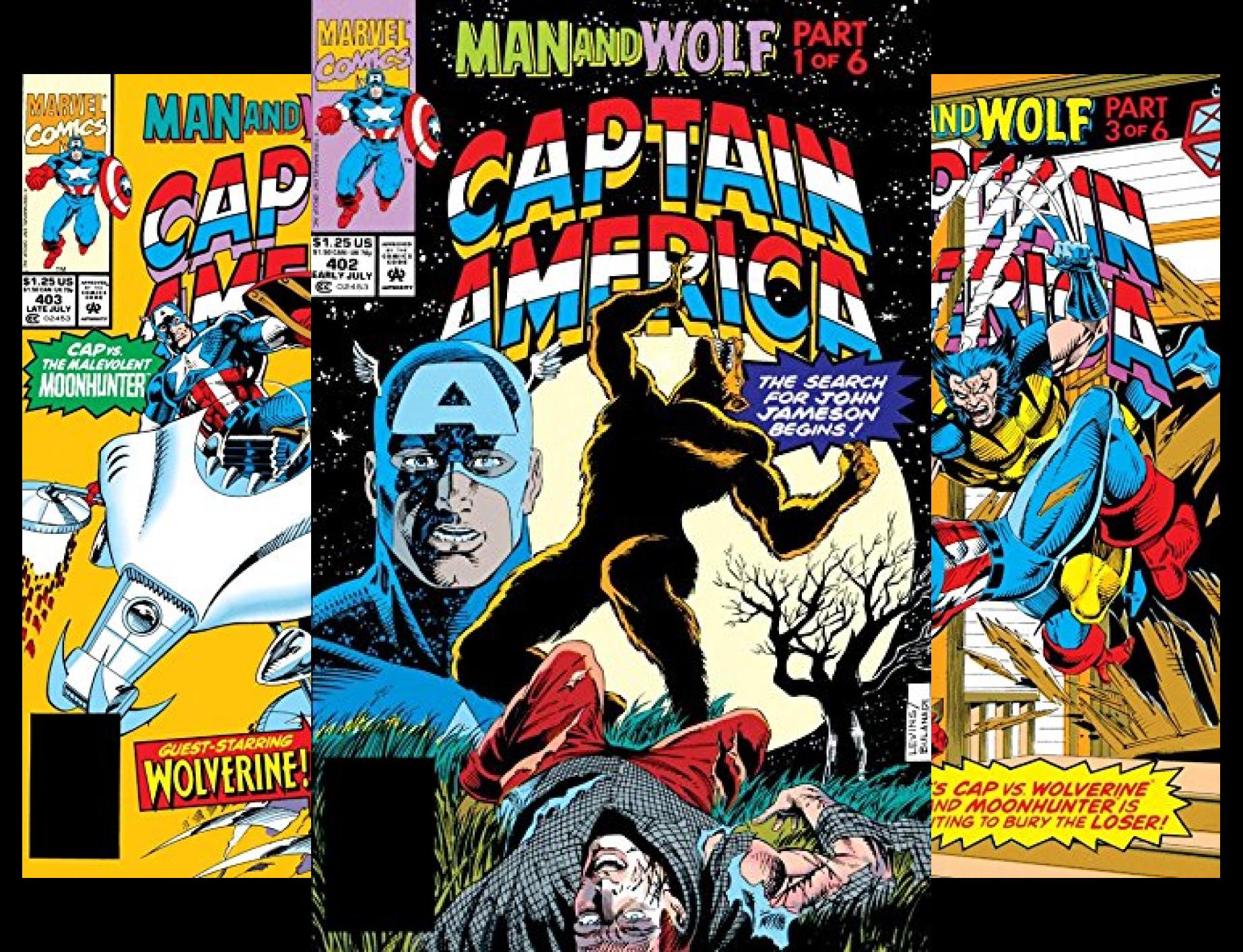 Wolf Man (Captain America: Man & Wolf (7 Book Series))