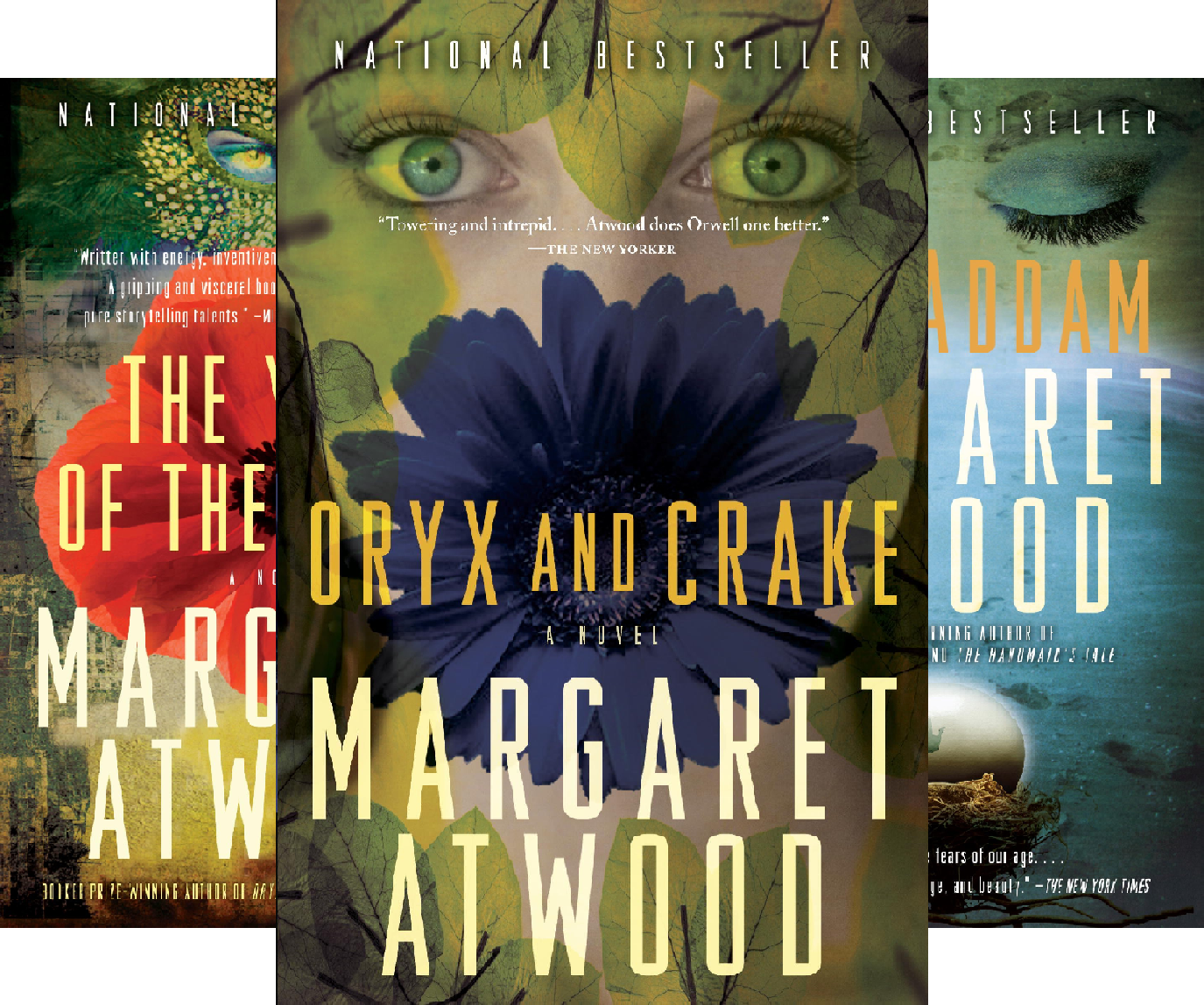 MaddAddam Trilogy (3 Book Series) (Margaret Atwood Year Of The Flood Trilogy)