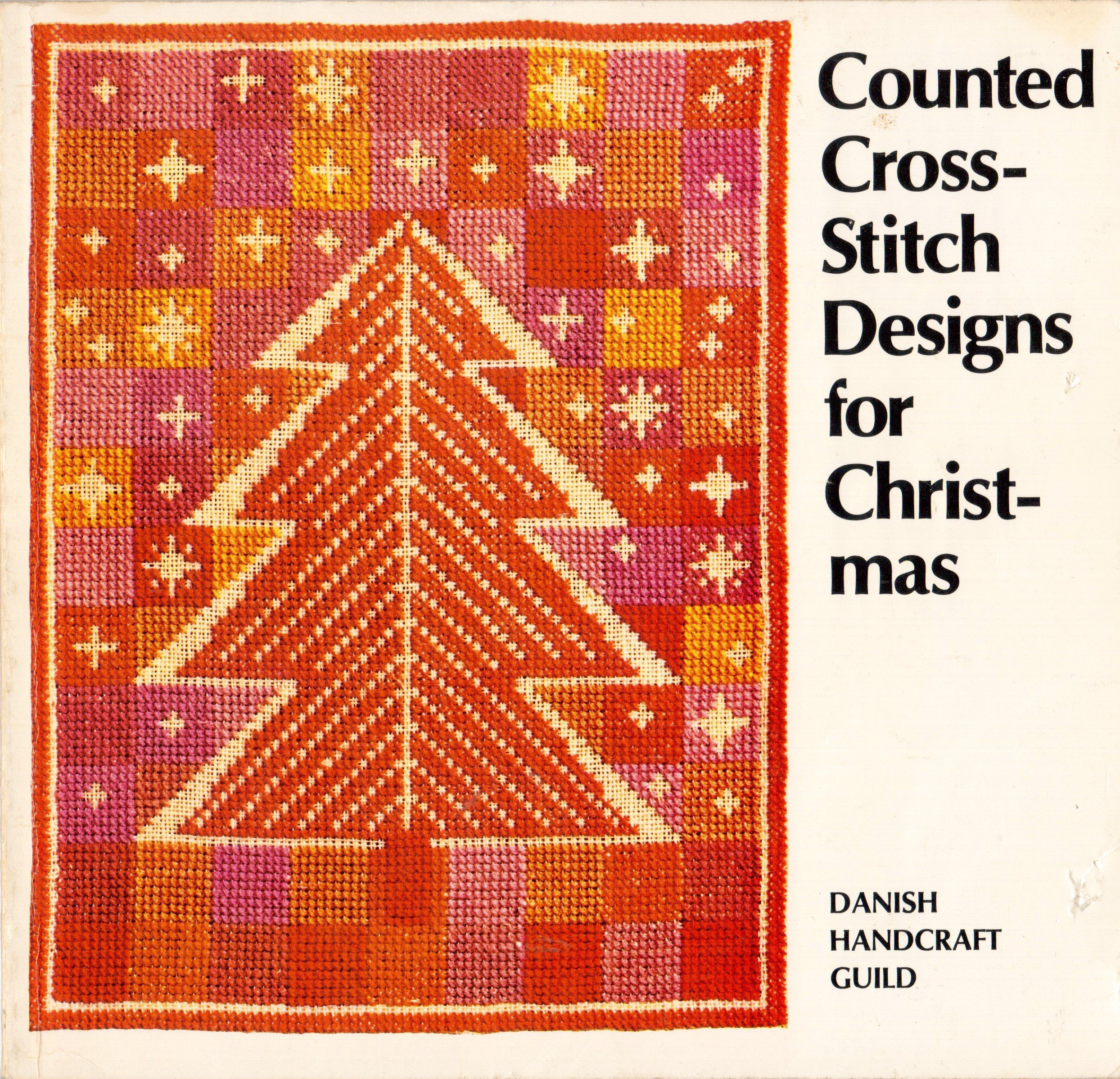 Counted Cross Stitch Designs For Christmas Danish Handcraft Guild