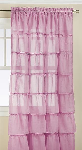Amazon.com: Lorraine Home Fashions Gypsy Shabby Chic Layered ...