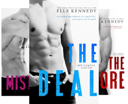 Off-Campus (4 Book Series) by  Elle Kennedy