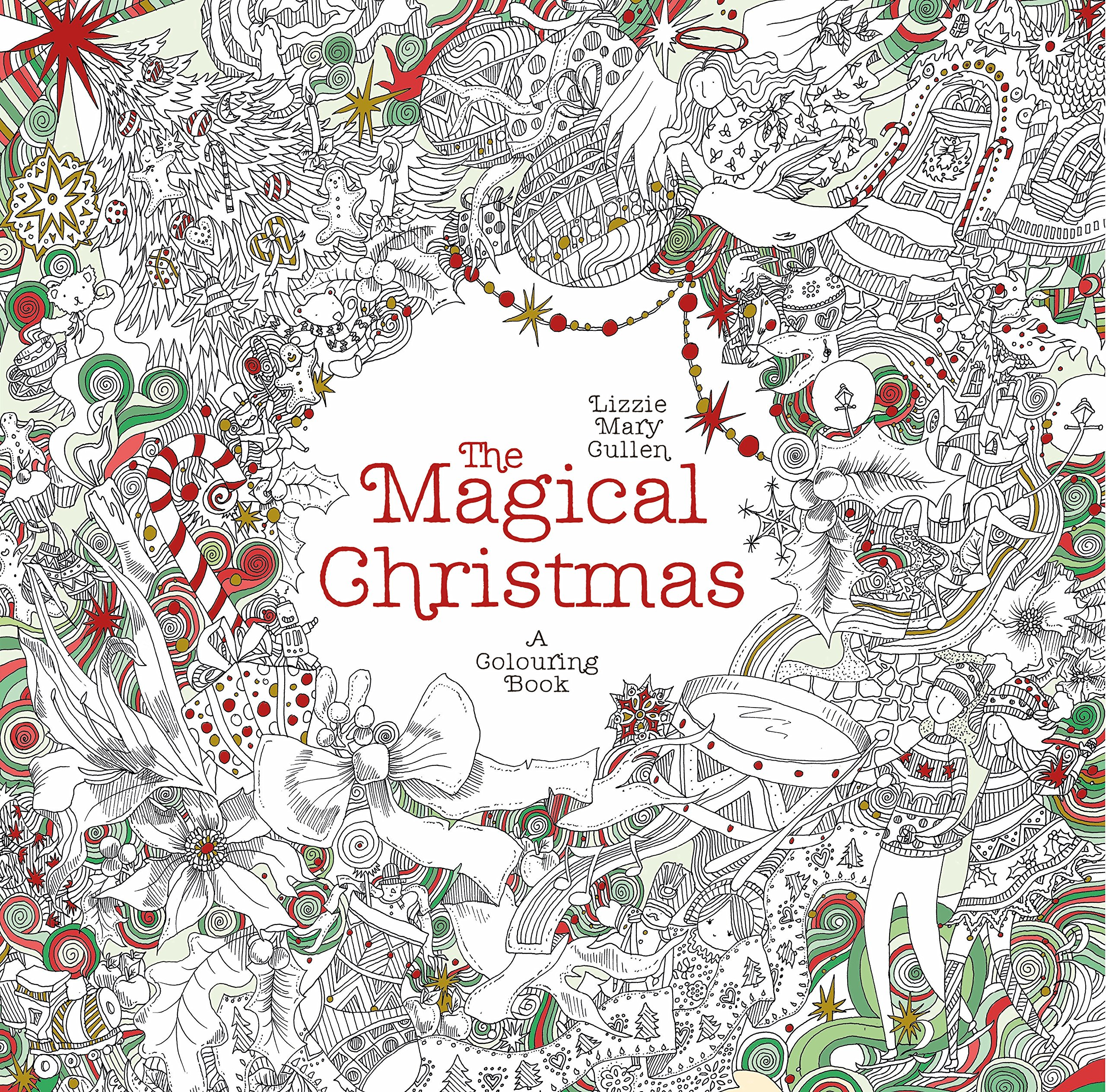 Amazon.com: The Magical Christmas (Magical Colouring Books ...