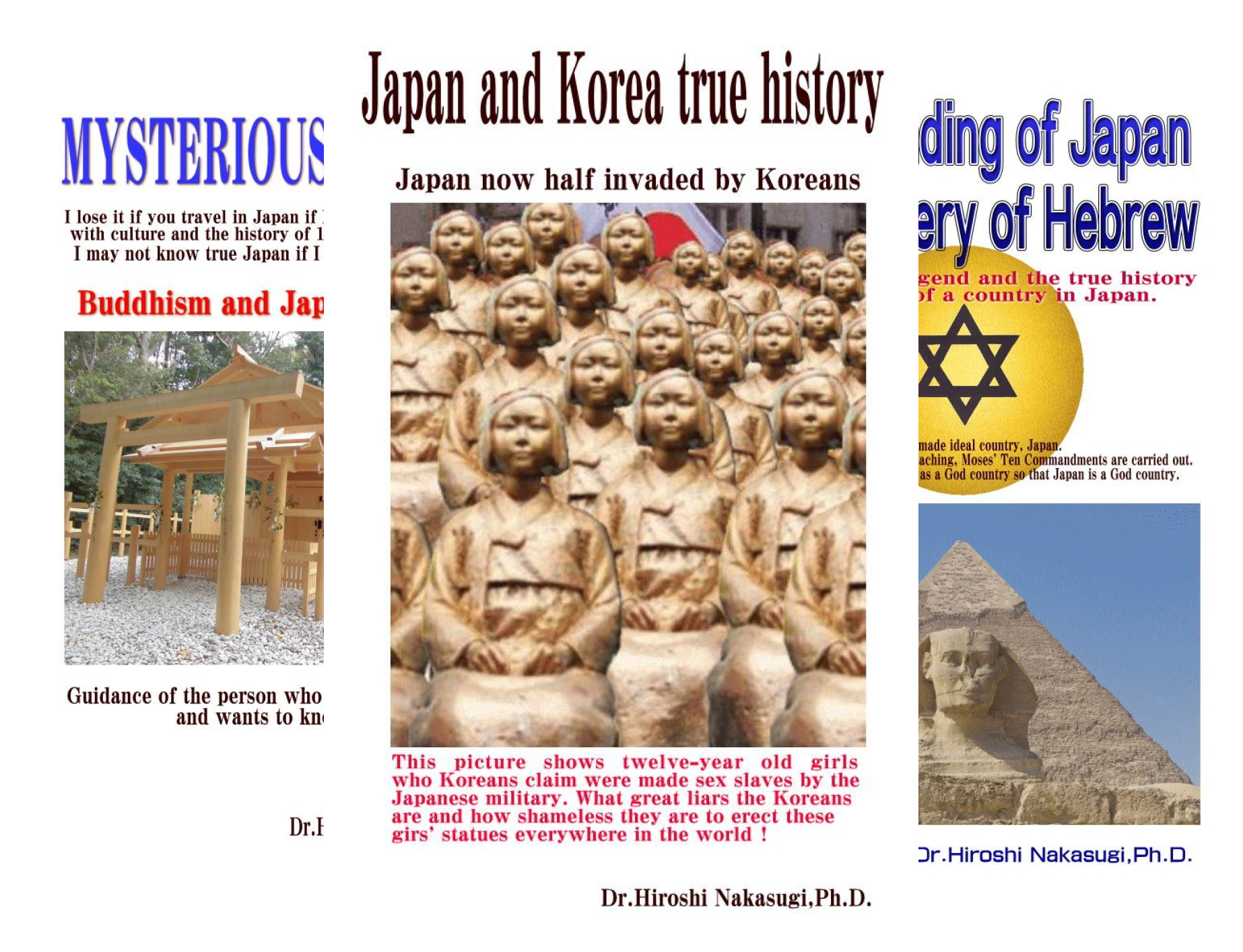 The Japanese History (4 Book Series)