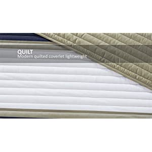 Comfort Spaces Quilt Coverlet Bedspread Ultra Soft Microfiber Pattern Hypoallergenic Bedding Set, Twin/Twin XL, Verone…