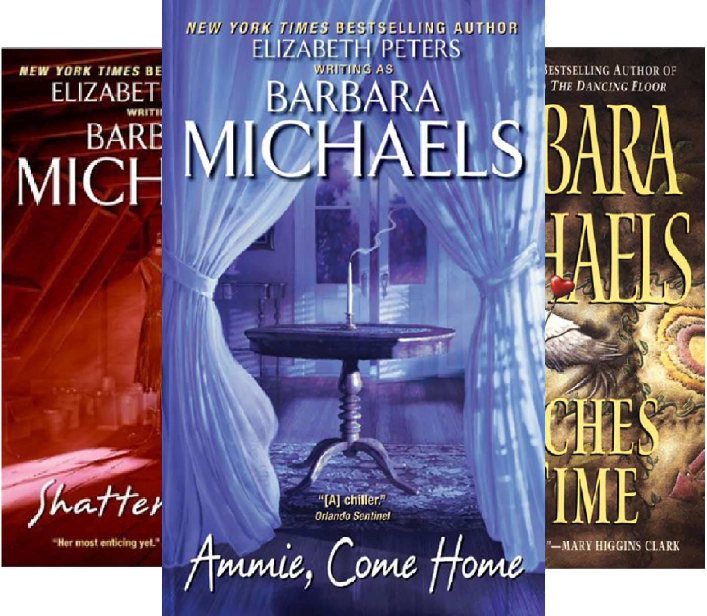 Check expert advices for barbara michaels witch kindle?