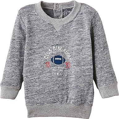 Toddler//Kid Petit Bateau Little Boys Reversible Tee Gray//Blue