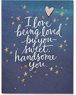 Amazon american greetings you make my eyes happy funny american greetings youre the one valentines day card for him with rhinestones 5815829 m4hsunfo