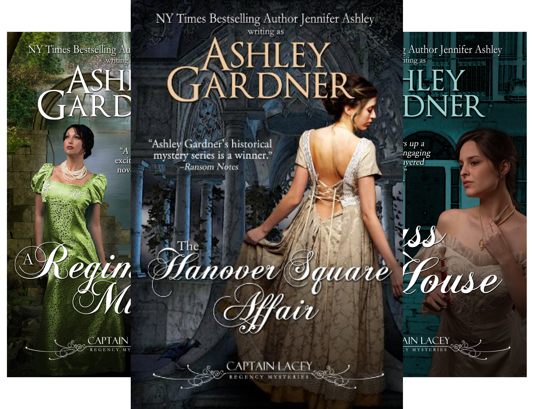 Captain Lacey Regency Mysteries (13 Book Series)