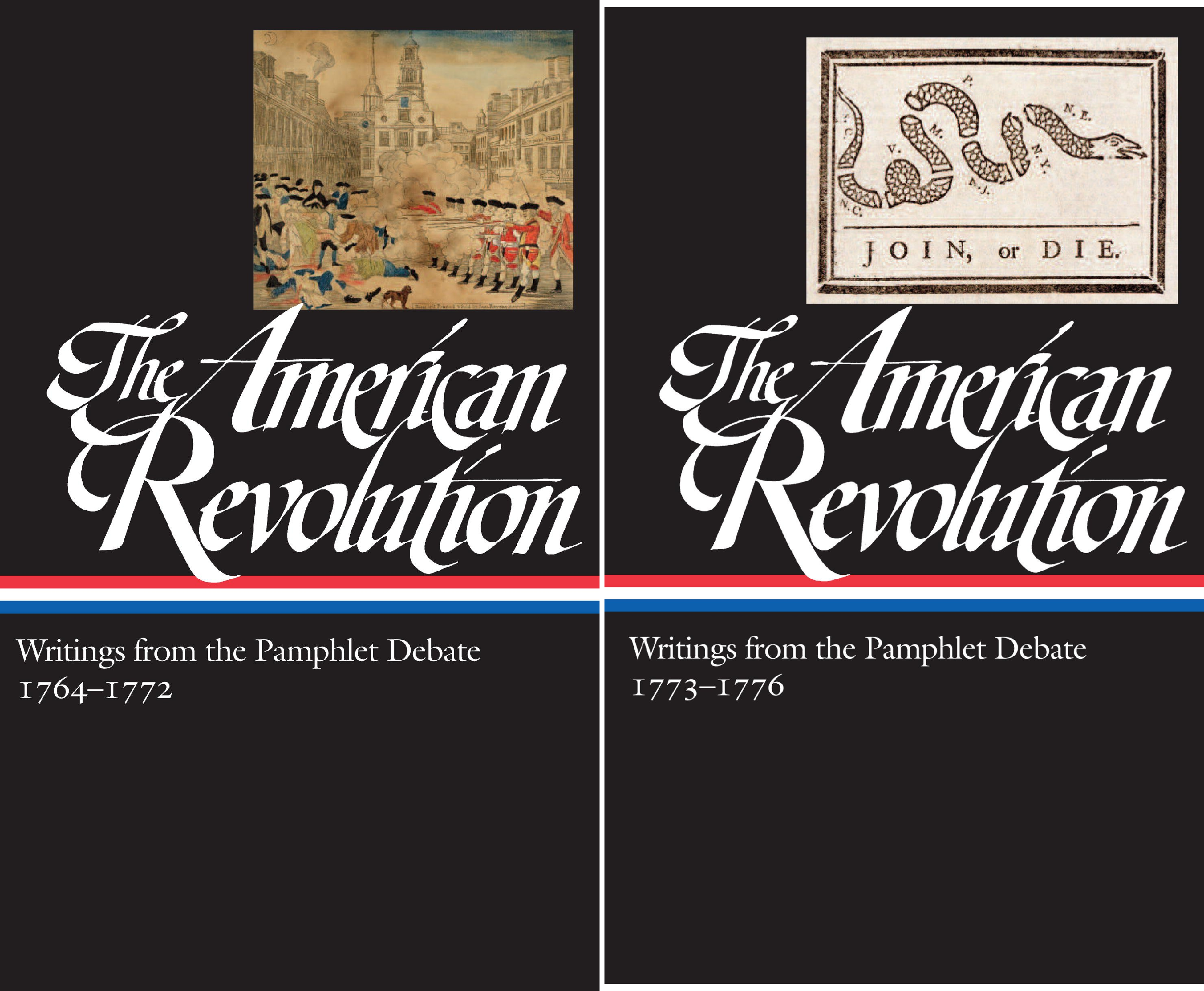 The American Revolution: Writings from the Pamphlet Debate 1764-1776 (Library of America) (2 Book Series) (The American Revolution A History Gordon Wood Summary)