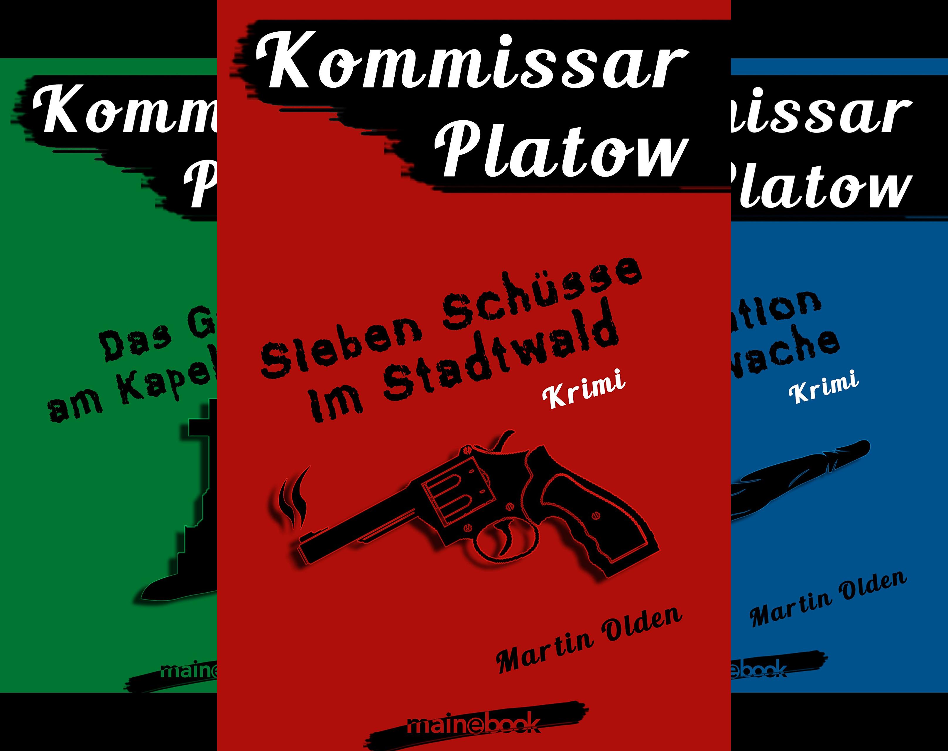 Kommissar Platow (Reihe in 10 Bänden)