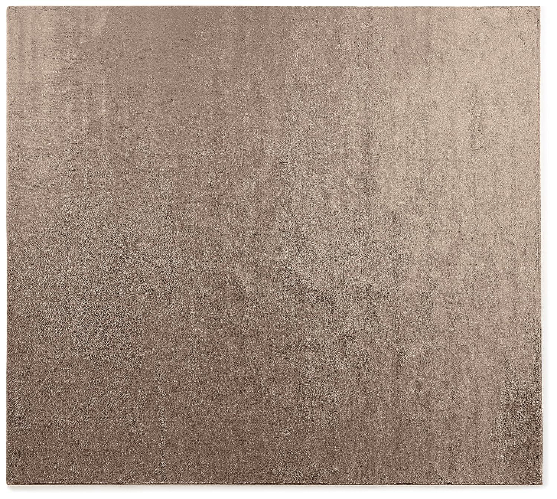 オーダーラグ ソフトタッチフェイクファー アイボリー 幅190cm 長さ215cm アレルブロック 消臭 B01IVMUG16 幅190cm,長さ215cm,アイボリ