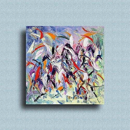 Quadro in tela da arredamento moderno, arte contemporanea, arte ...