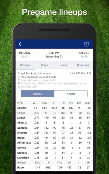Baseball Live Scores, Stats, Plays, & Results
