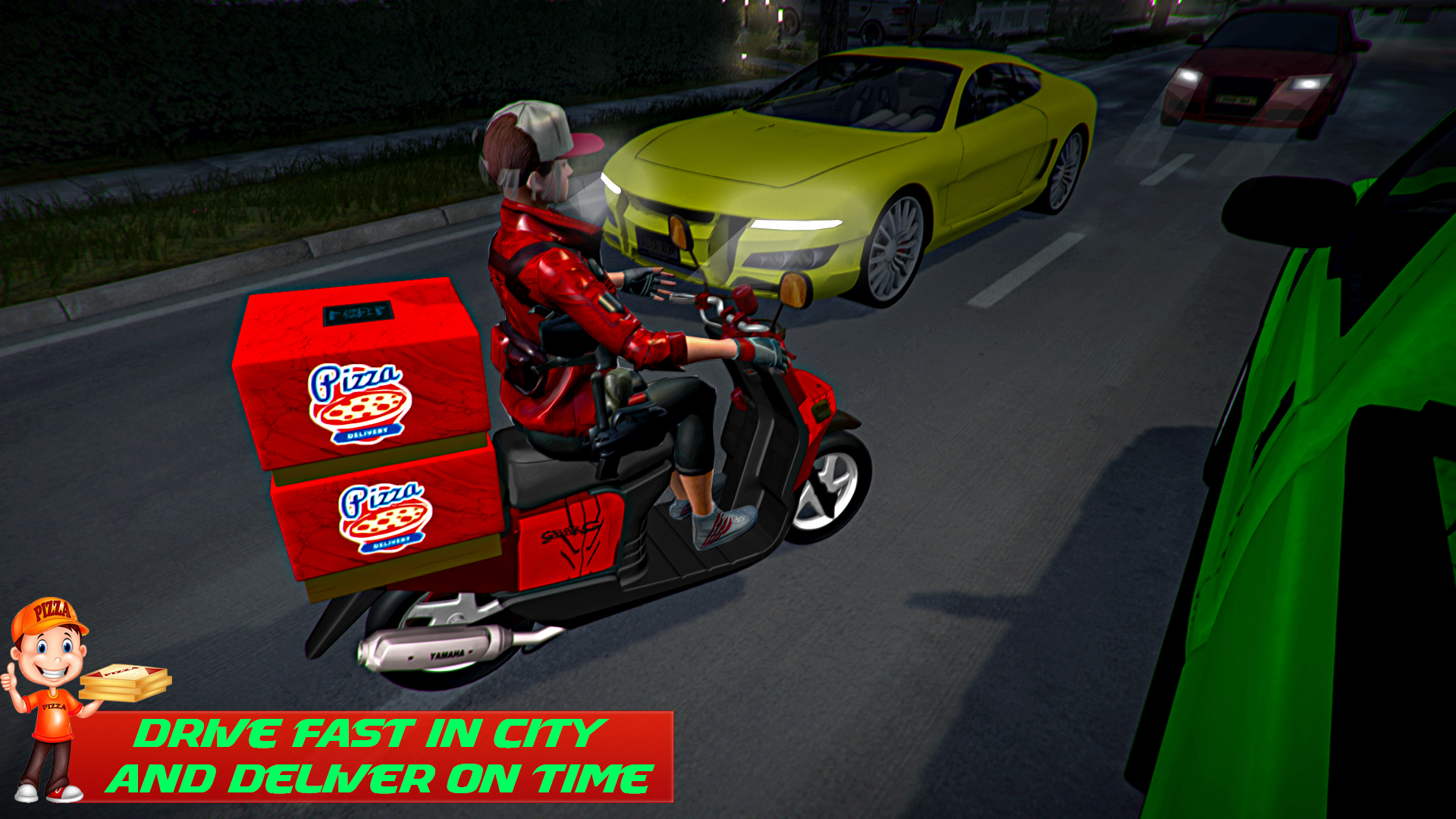 Pizza Delivery Girl 2020: Moto Pizza Simulator Juego para niños para divertirse: Amazon.es: Appstore para Android