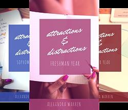 Attractions & Distractions (4 Book Series) by  Alexandra Warren