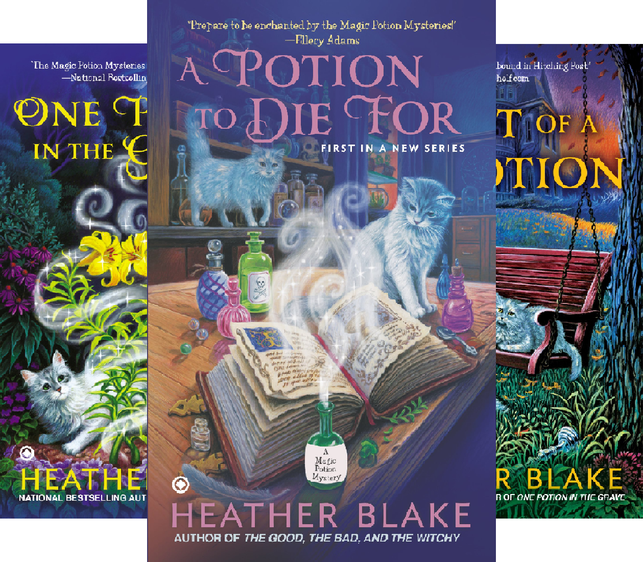 A Magic Potion Mystery (3 Book Series)