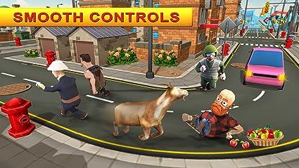 Crazy Goat Destruction Simulator 2018