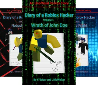 Roblox Hacker Diaries 3 Book Series Kindle Edition