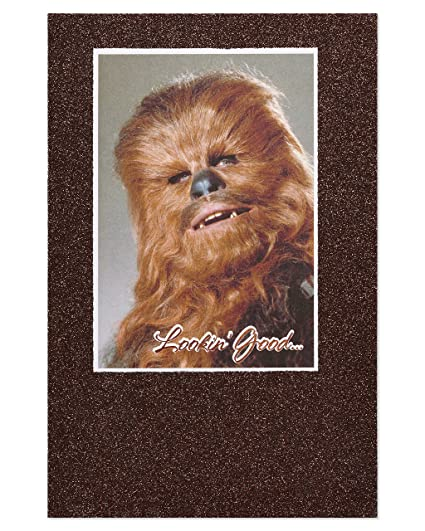Amazon American Greetings Funny Chewbacca Star Wars Birthday