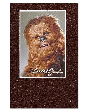 American greetings funny chewbacca star wars birthday card with american greetings funny chewbacca star wars birthday card with glitter bookmarktalkfo Choice Image