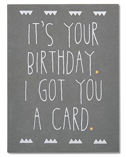 Amazon american greetings funny birthday card with foil american greetings funny birthday card with foil m4hsunfo