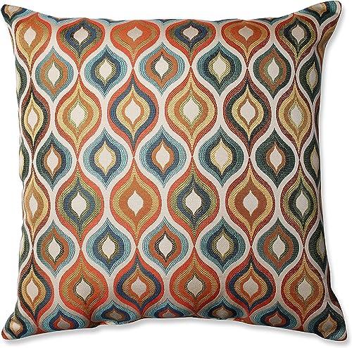 Pillow Perfect Flicker Jewel Floor Pillow, 24.5-Inch,Multicolor