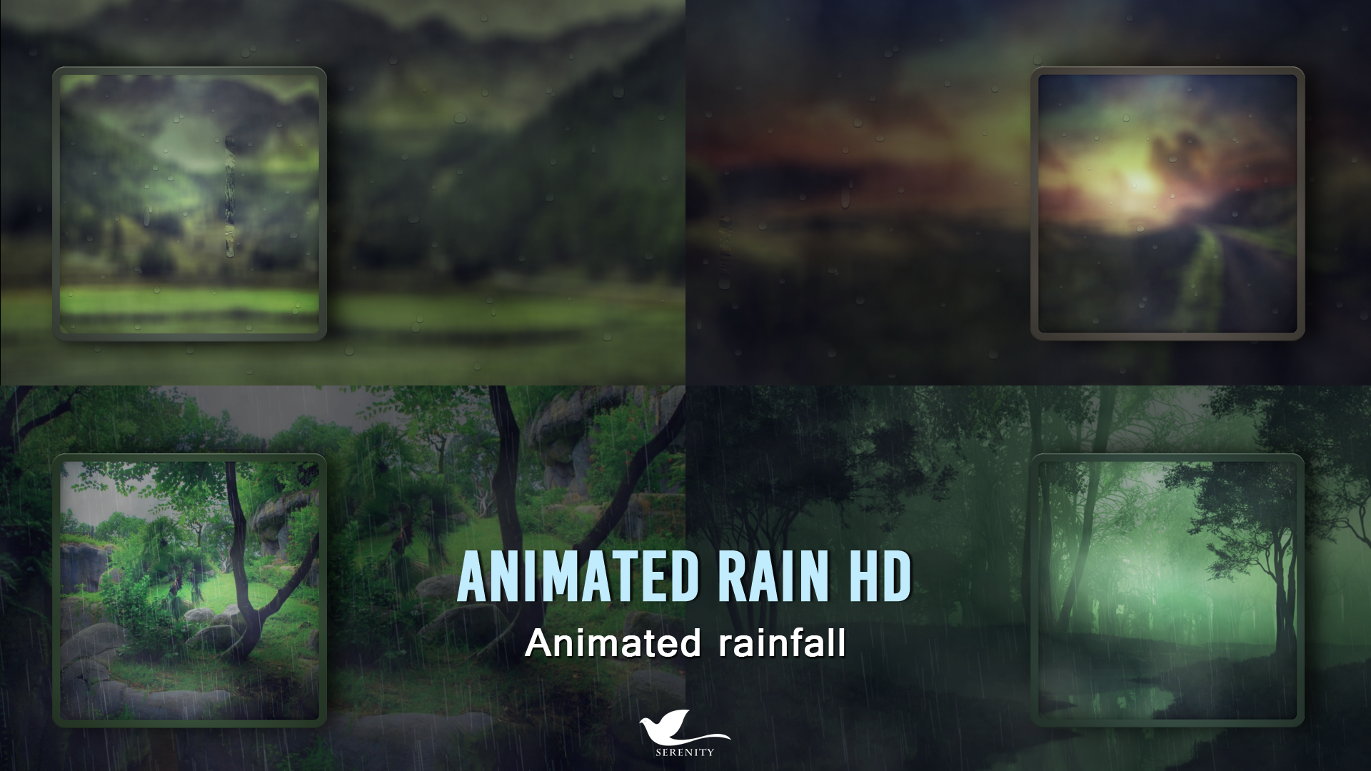 amazon com animated rain hd animated rainfall appstore for android
