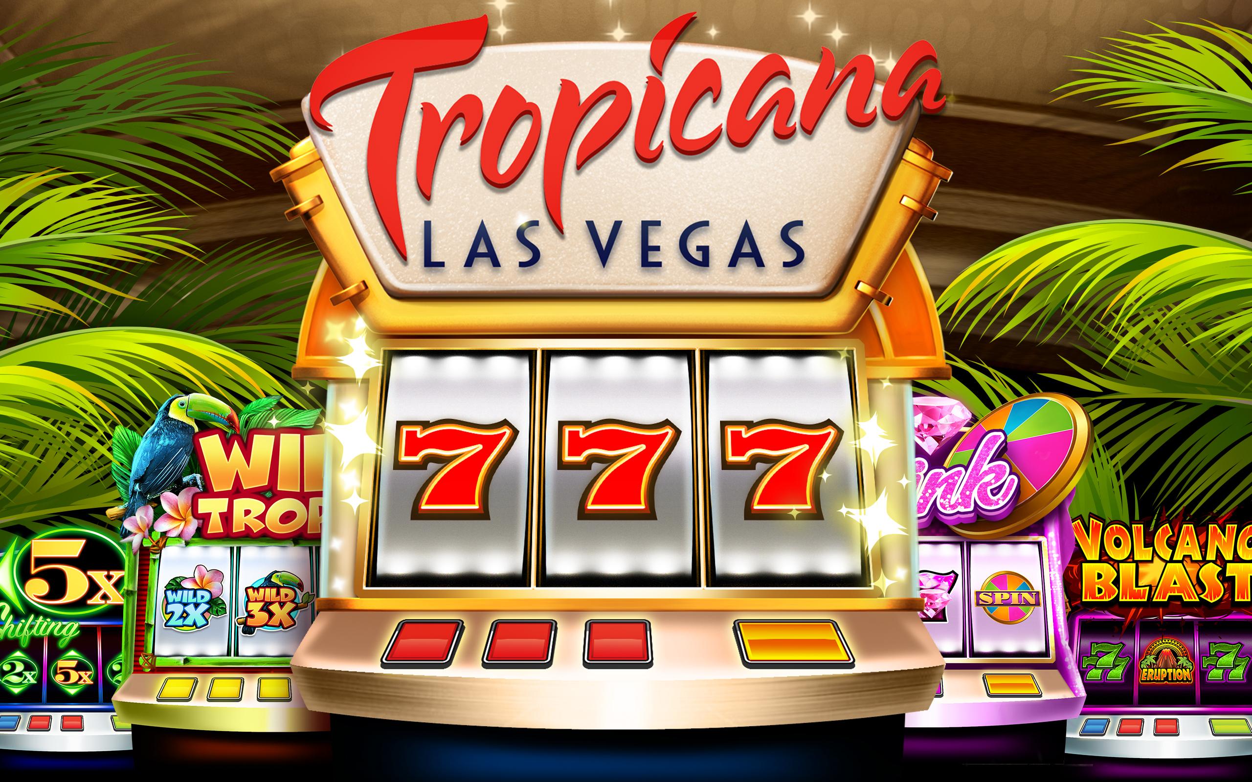 Las vegas casino with old slot machines