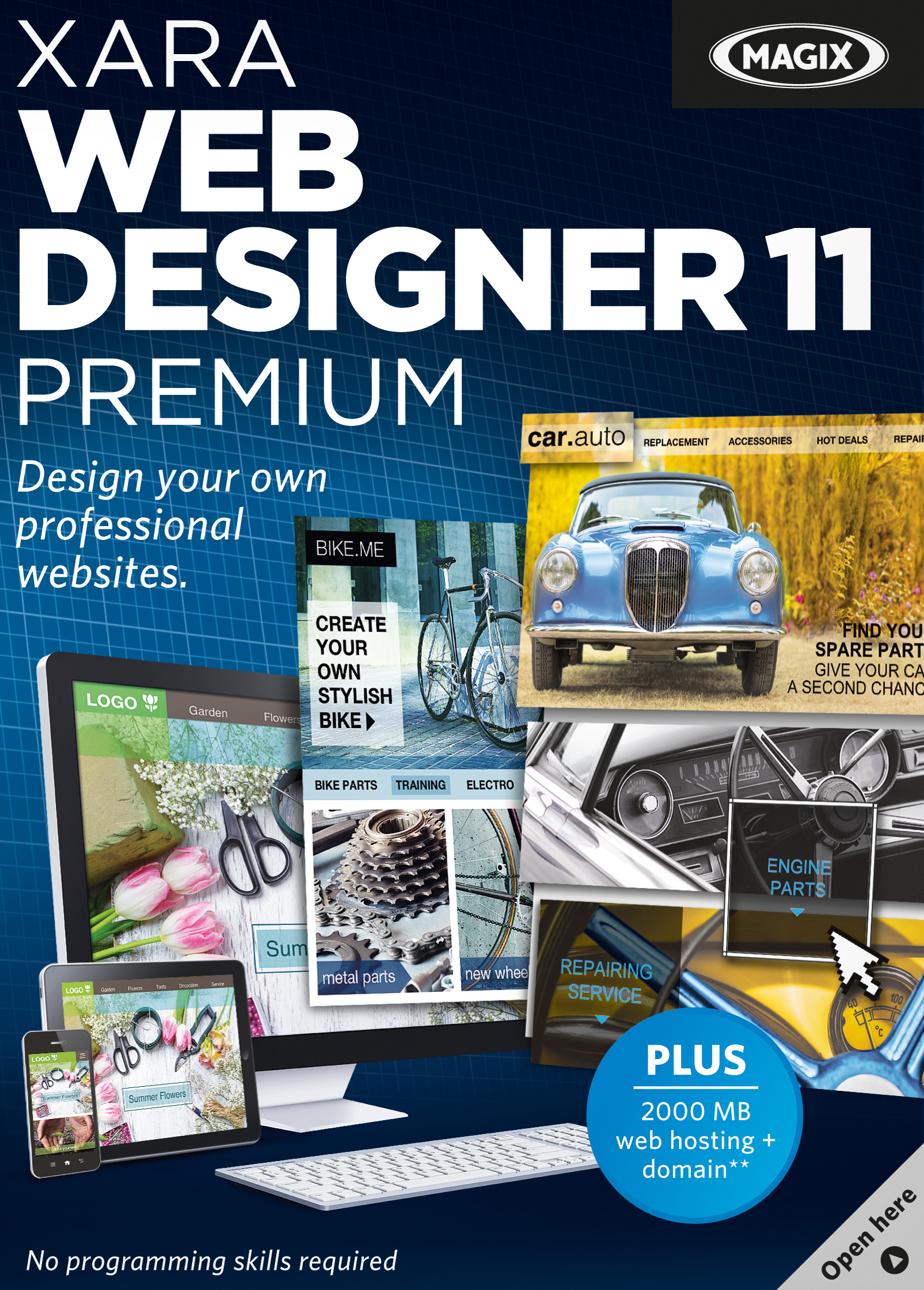 Xara Web Designer 11 Premium [Download] by MAGIX