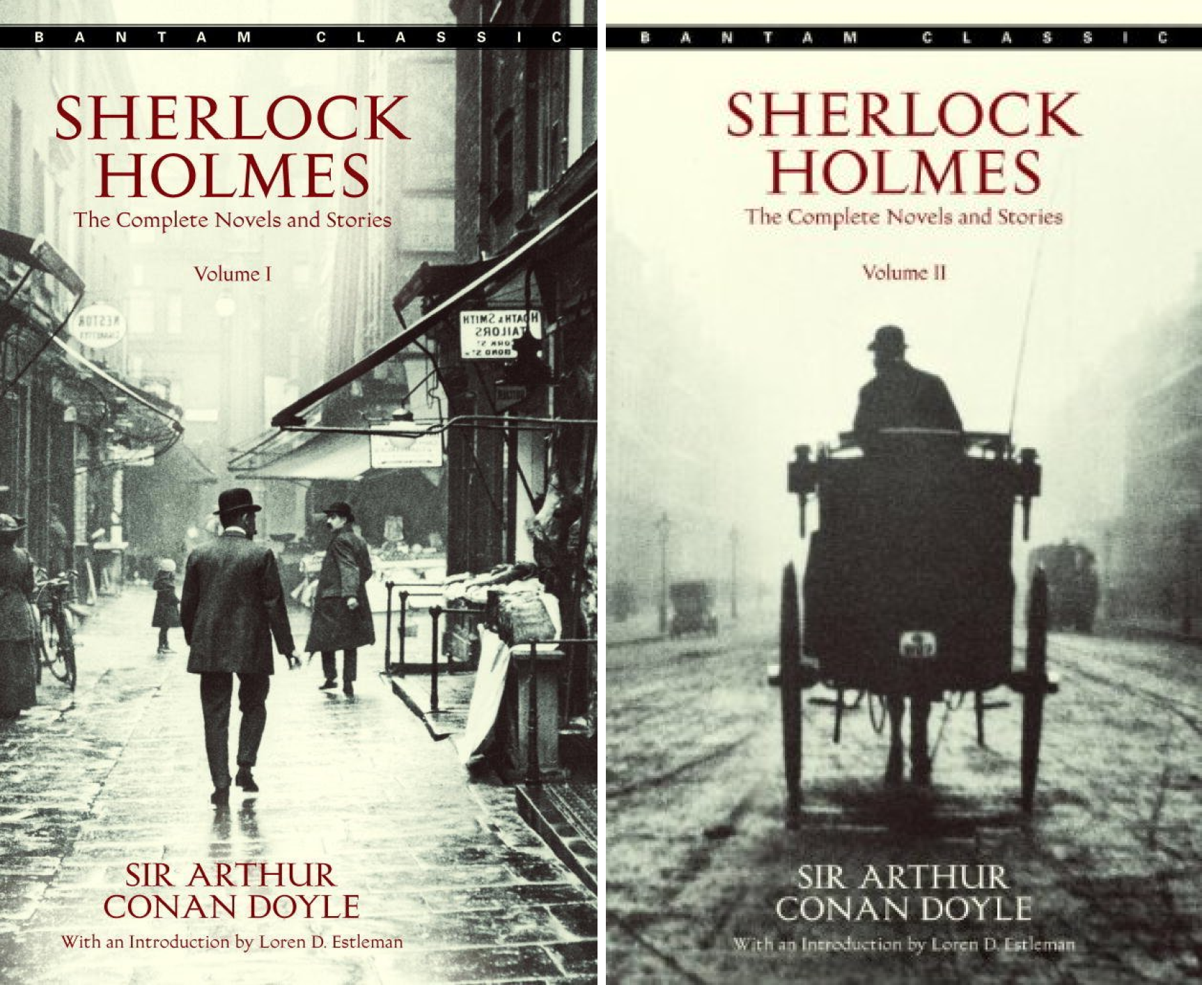 Sherlock Holmes The Complete Novels and Stories (2 Book Series)