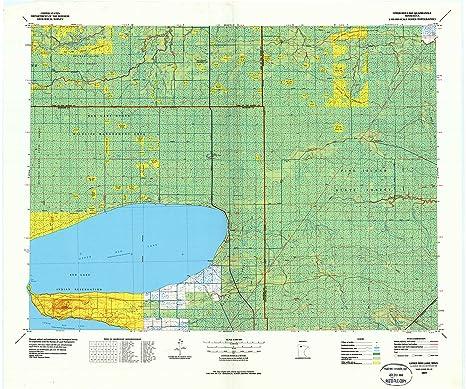 Red Lake Minnesota Map.Amazon Com Yellowmaps Upper Red Lake Mn Topo Map 1 100000 Scale