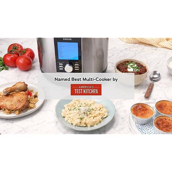 Zavor LUX LCD 6 Quart Programmable Electric Multi-Cooker: Pressure Cooker, Slow Cooker, Rice Cooker, Yogurt Maker… 7