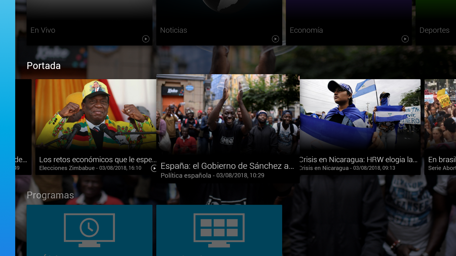 FRANCE 24 - Fire TV: Amazon.es: Appstore para Android