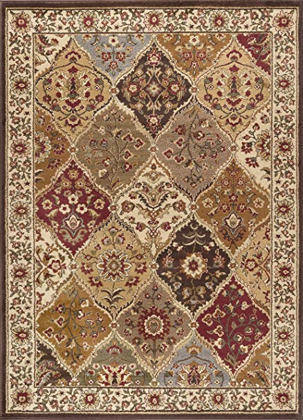 8x10 area rugs. Universal Rugs 105120 Multi 8x10 Area Rug, 7-Feet 6-Inch By 9