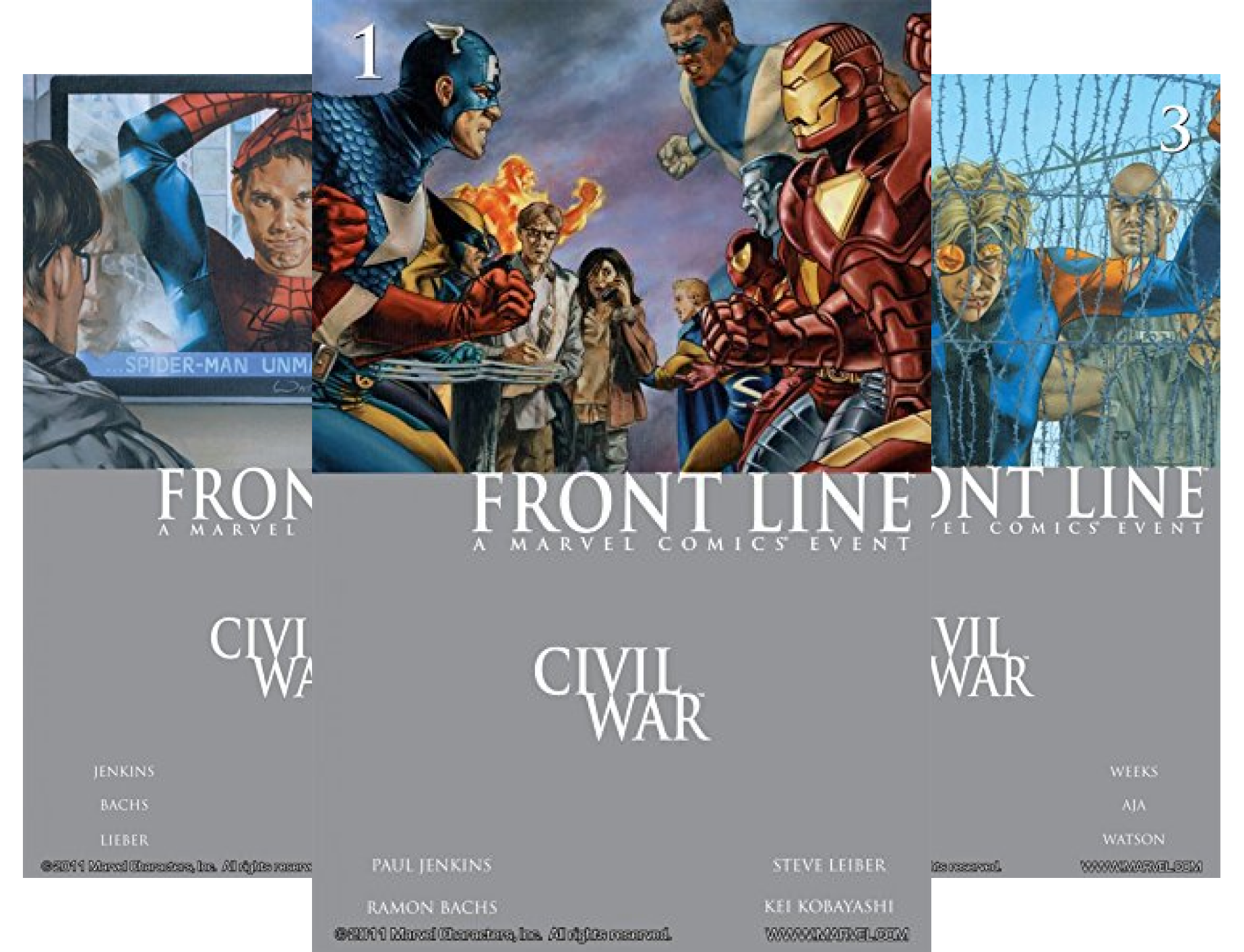 Civil War: Front Line Collection #1-6 (6 Book Series)