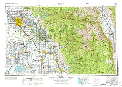 Map Of Fresno on