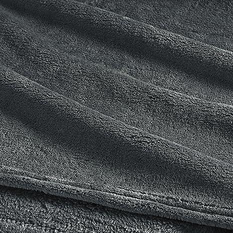 Clara Clark Micro Polar-Fleece Manta - Ultra Acogedor cálido Cama Manta, Salvia, Matrimonio: Amazon.es: Hogar