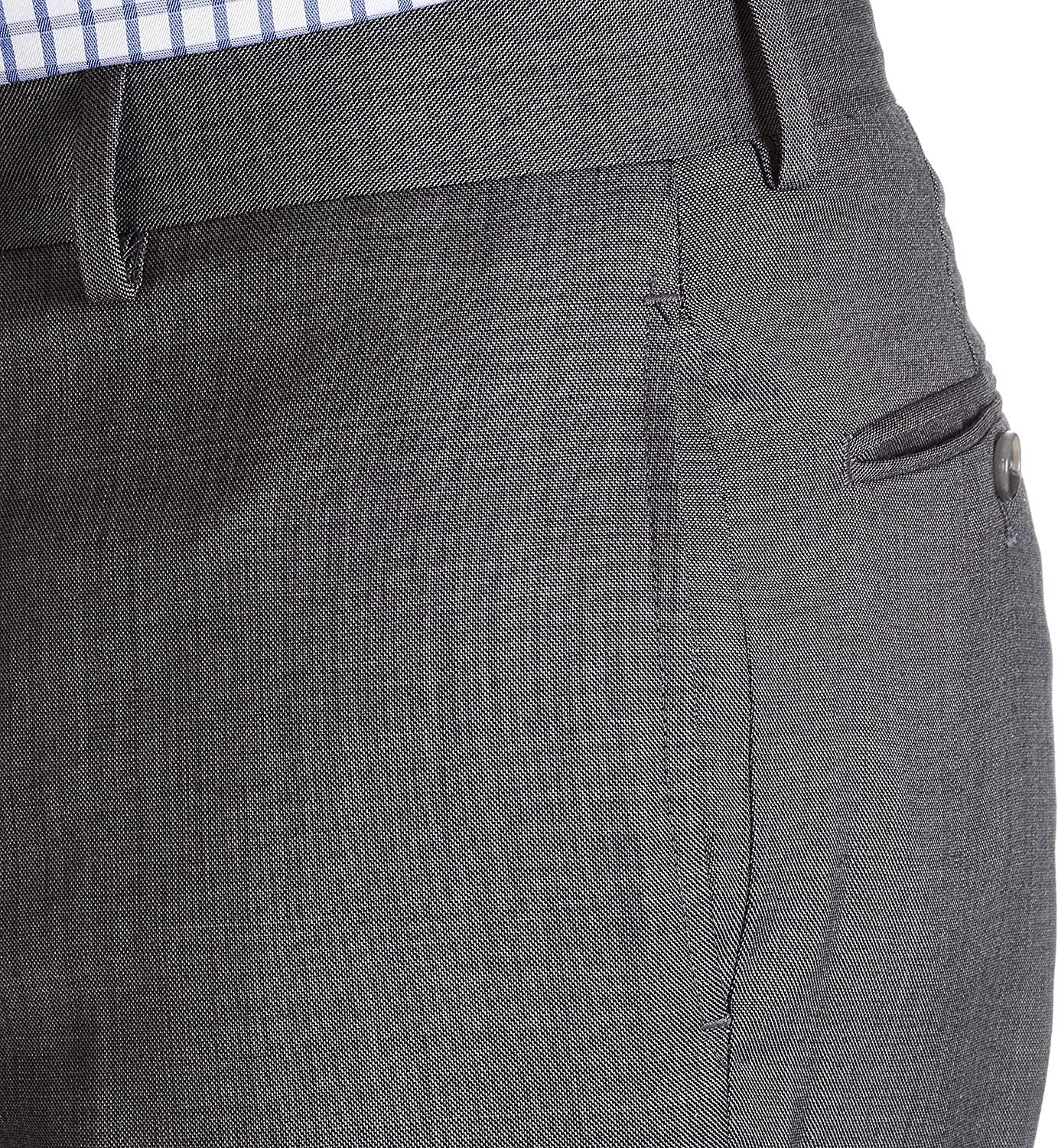 Tommy Hilfiger Mens Sharkskin Suit Separate Pant Tommy Hilfiger Tailored AS142-TYLER