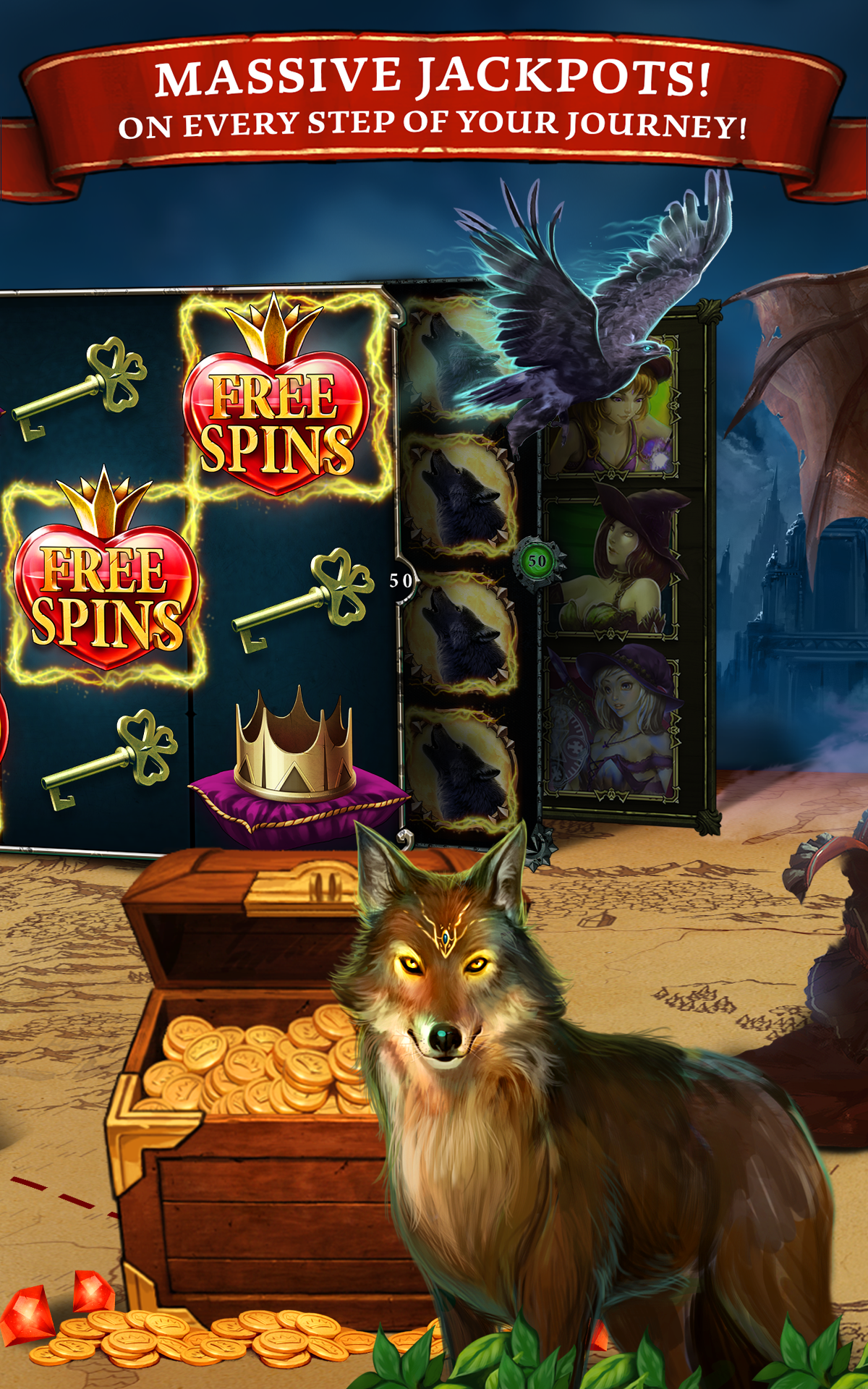 Amazon Com Scatter Slots Spin And Win With Wild Casino