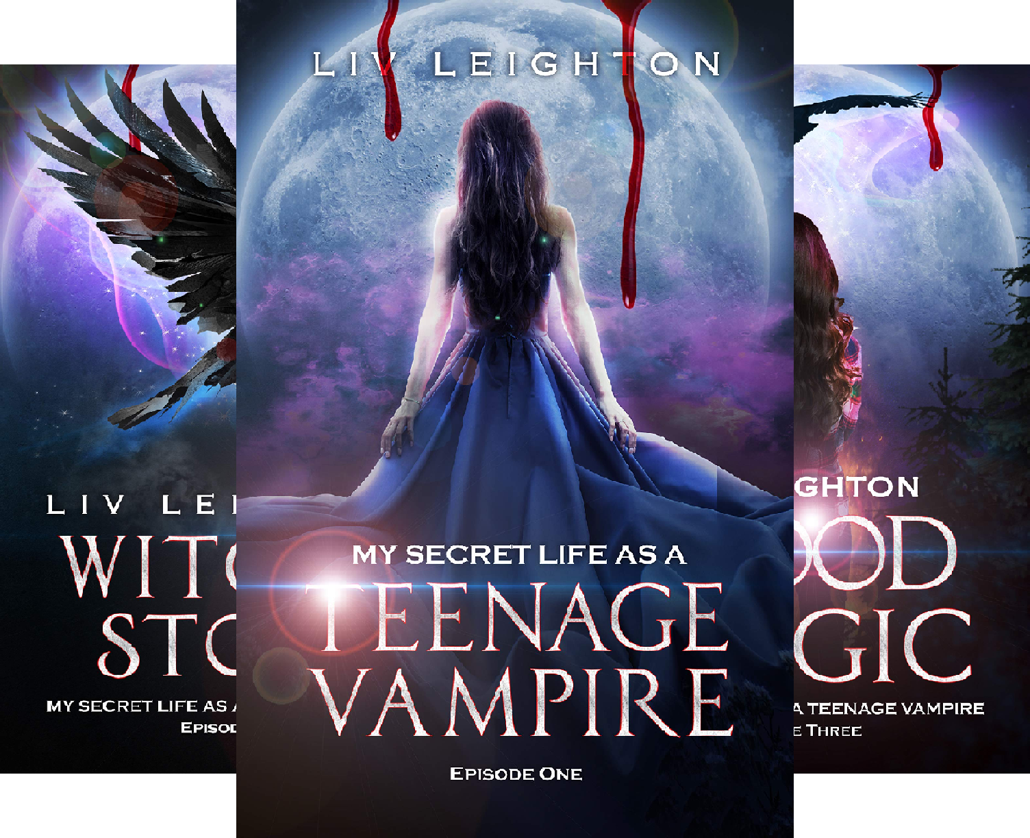 My Secret Life As A Teenage Vampire (4 Book Series)