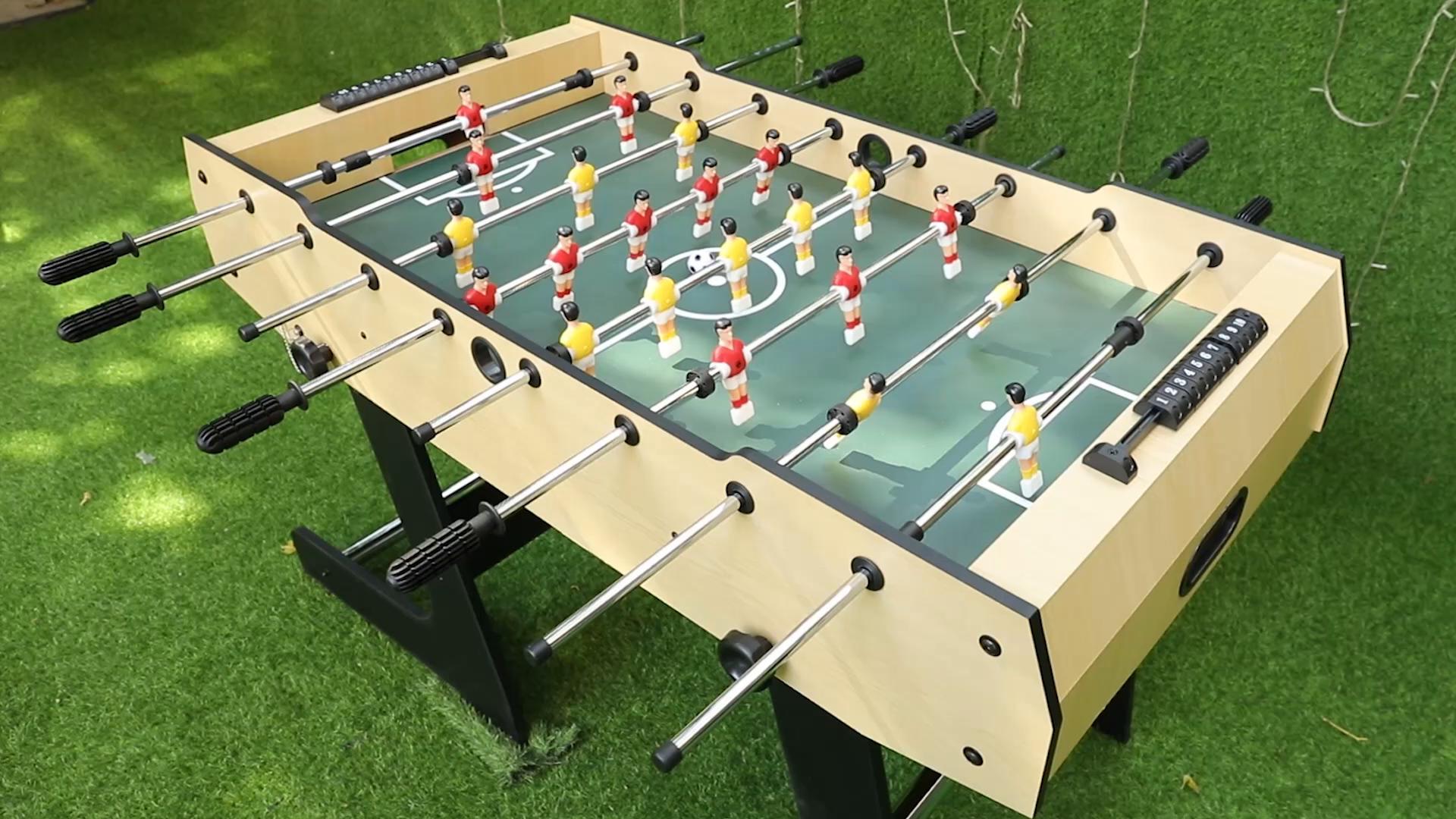 Umi. Essentials Mesa de Futbolín Plegable 4 Pies Fútbol Mesa de ...