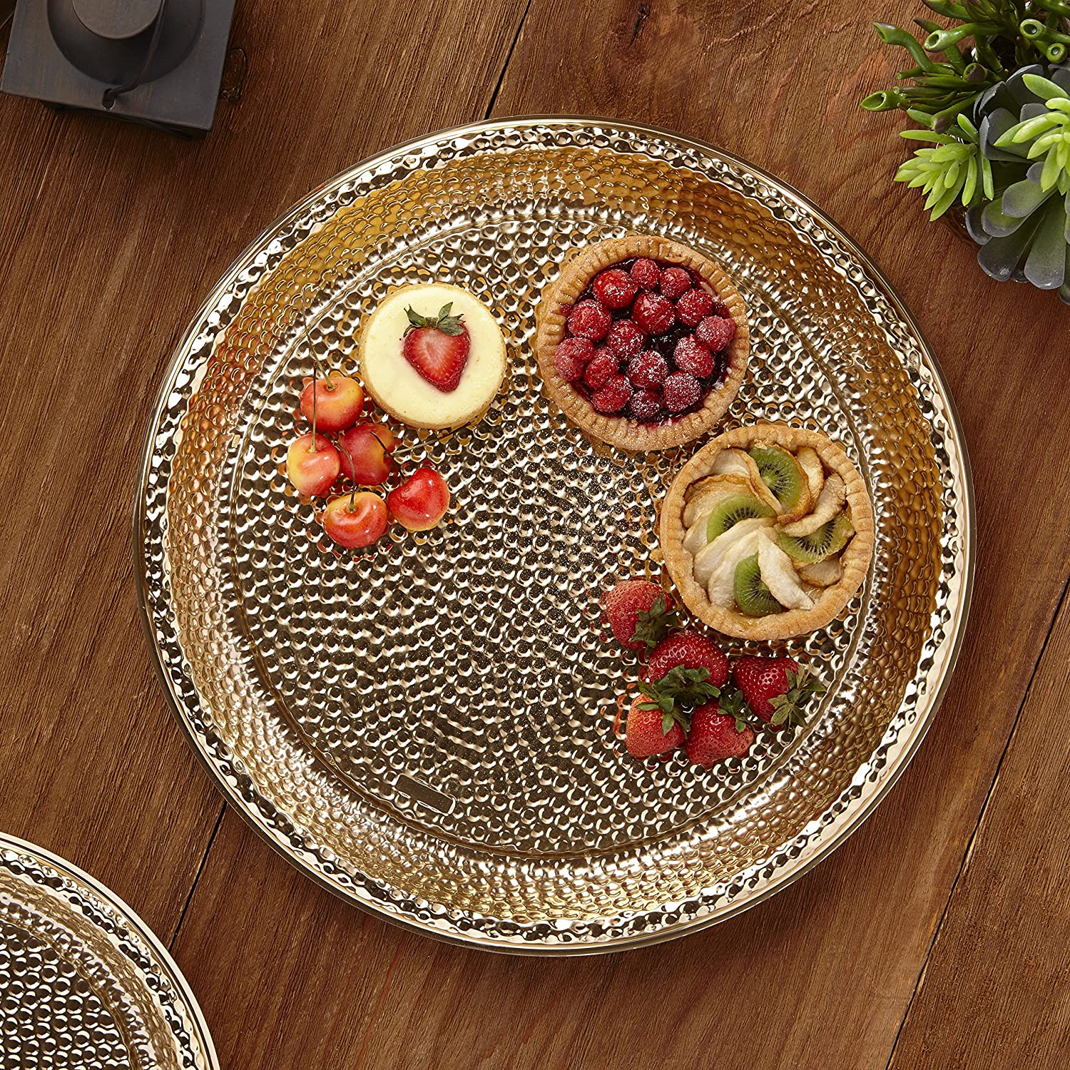 Amazon.com | Mozaik HPG1216PDQ-O Disposable Platter, Gold: Serveware Accessories
