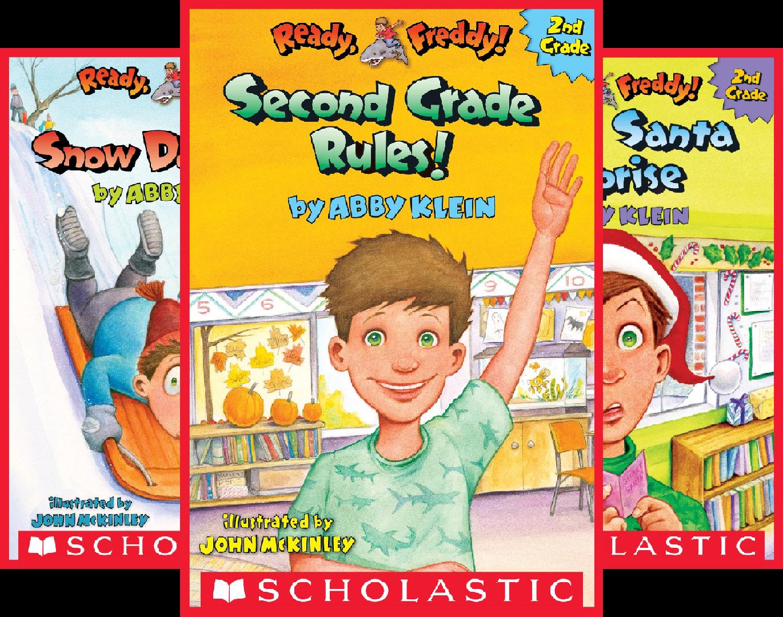 Ready,Freddy! 2nd Grade (8 Book Series) -