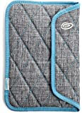 Timbuk2 Plush Sleeve Case for 7-Inch Tablets with Memory Foam for Impact Absorption, Grey/Cold Blue