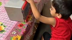 Amazon.com: Casdon Morphy Richards Microondas Juguete: Toys ...