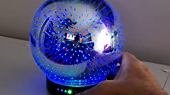 f/ür B/üro,Yoga,Spa,Schlafzimmer Braun Holzkorn Aroma Diffuser,300ml LED Lichter Luftbefeuchter Ultraschall vibration atomization Elektrisch Duftlampe /Öle Diffusor Aromatherapie Diffuse