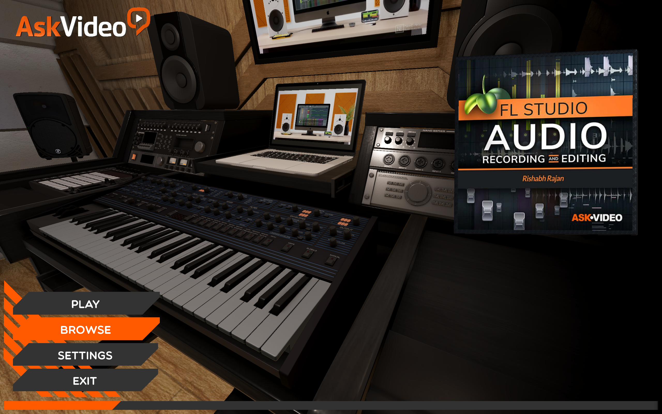 Record & Edit Audio Course in FL Studio by AV
