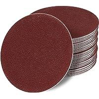Discos de lija excéntricos, 125 mm, sin agujero
