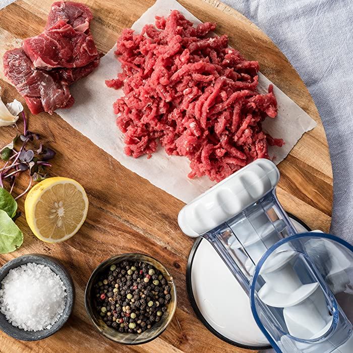 Use the Norpro Meat Grinder Machine