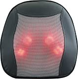 Relaxzen 60-2890 Shiatsu Massage Cushion with Heat for Lower Back